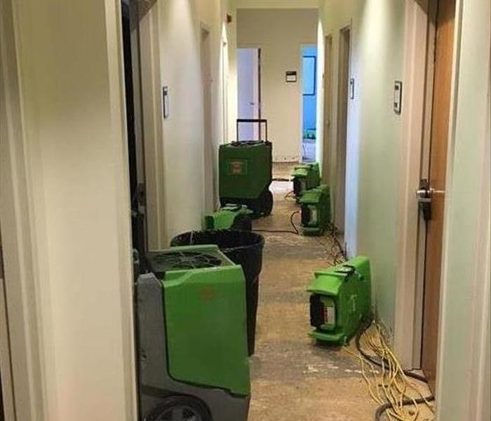 Water Damage At A Local Dorm After
