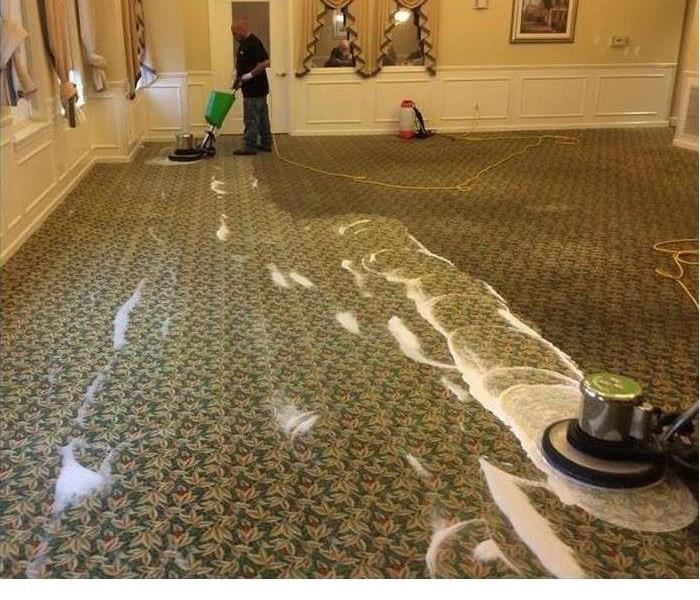 Why SERVPRO Why SERVPRO when it comes to getting your carpets cleaned!