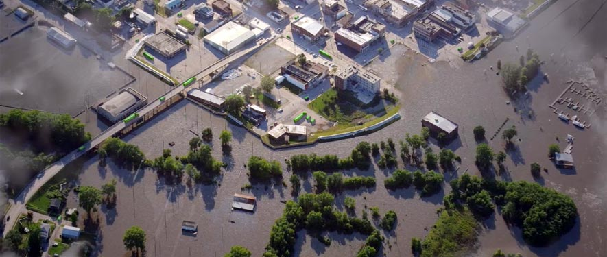 Warsaw, IN commercial storm cleanup